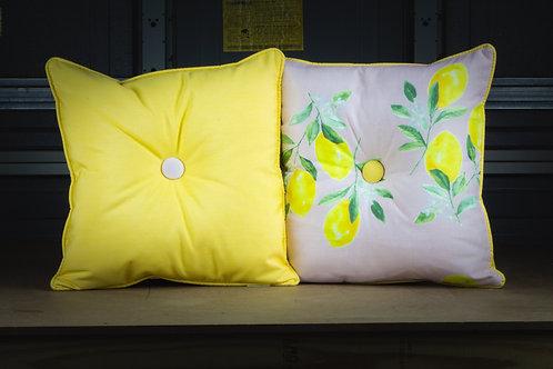 Pink Lemonade- Throw  Pillow w/ Insert