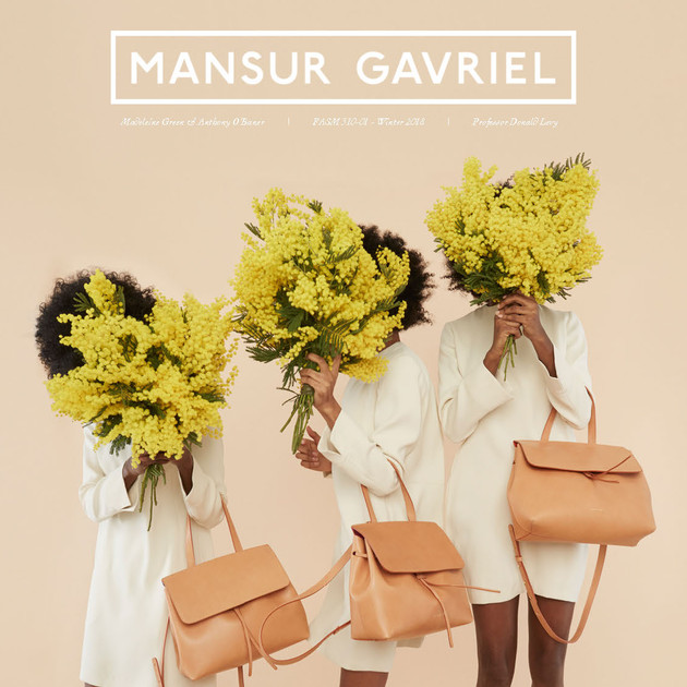 Mansur Gavriel Jewelry: A Brand Extension