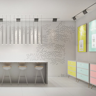 Designing a Pop-Up Space for Drunk Elephant Skin Care