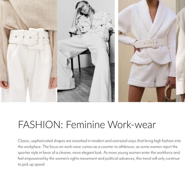 A/W 2020/21 Fashion Forecast
