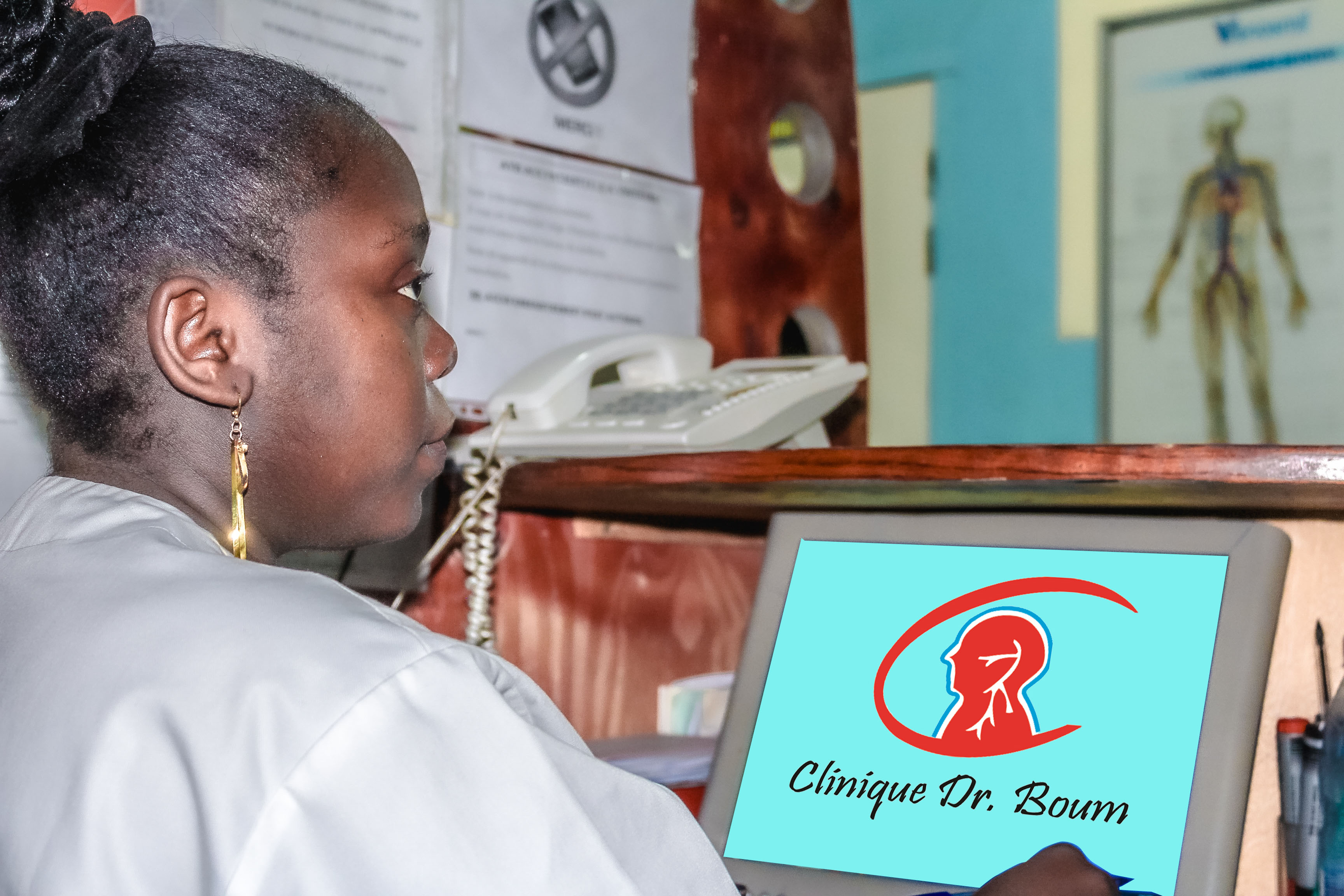 clinique dr boum - reception