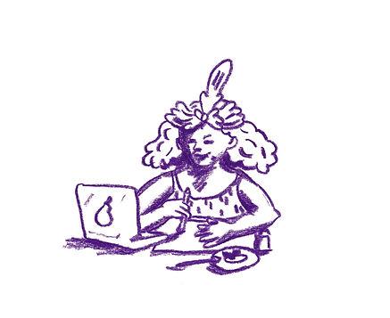 Selfportrait, Illustrator