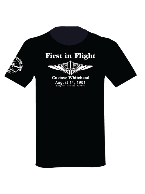 First in Flight Whitehead T-Shirt