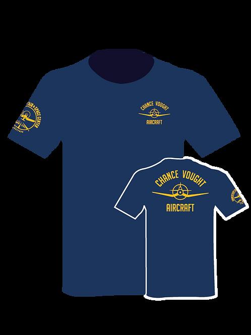 Navy Shirt w/ Yellow Graphics