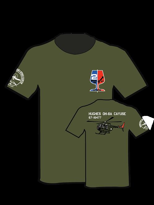 OH-6 CayuseT-Shirt