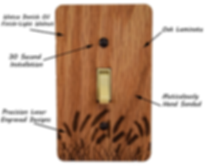 CowTech Light Switch Covers