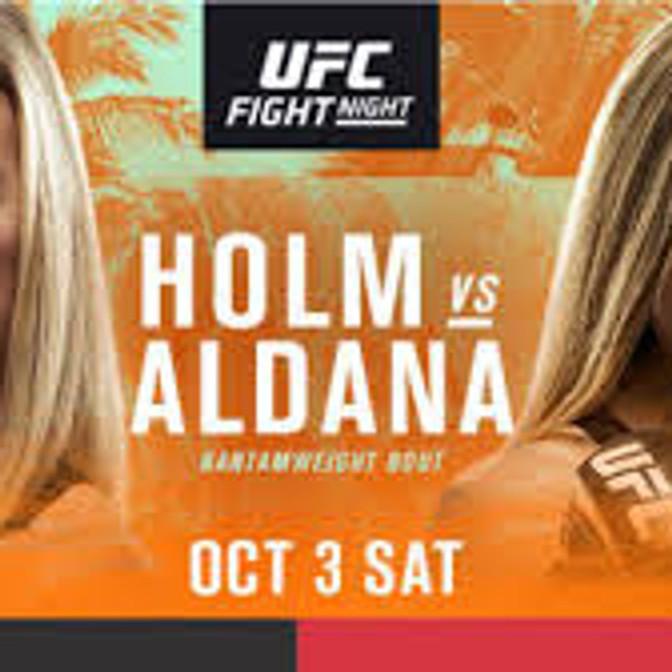 UFC Holly Holm vs. Irene Aldana