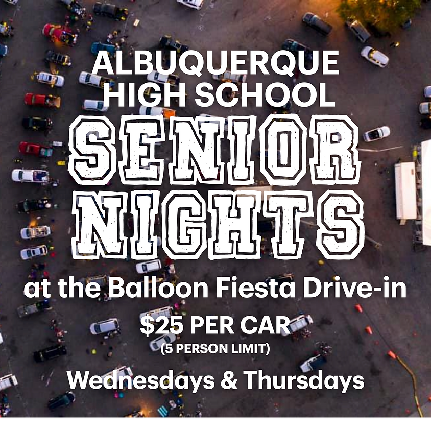Manzano H.S. [Senior Movie Night Event]