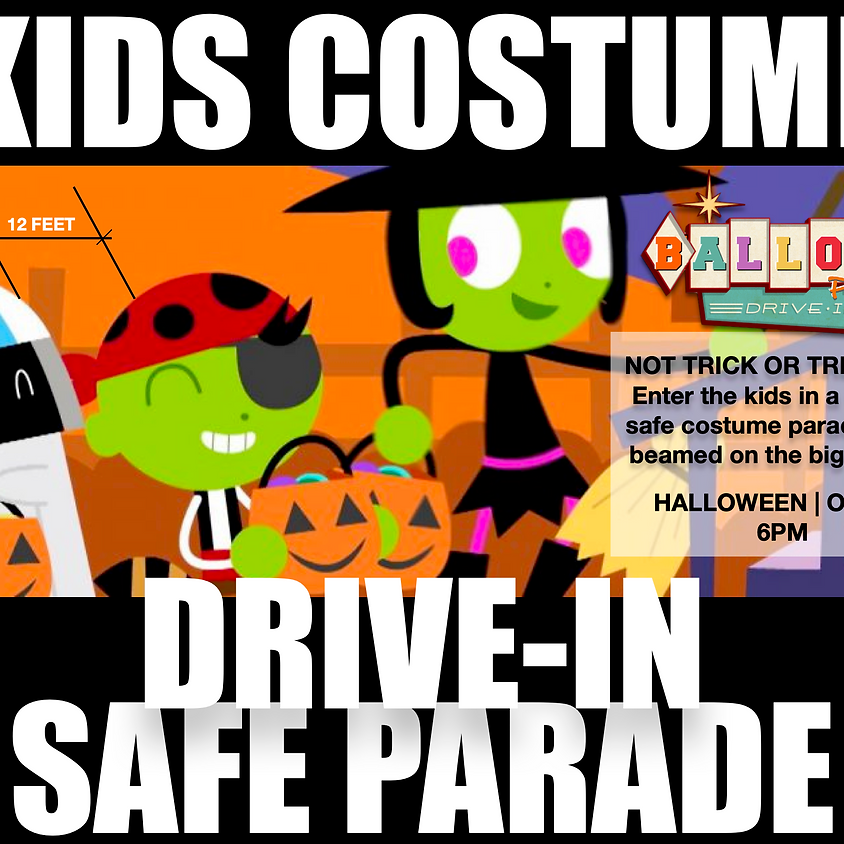 Kids Costume Drive-in Parade