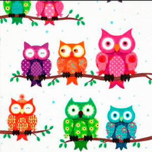 Colorful Owls Referencia 6007