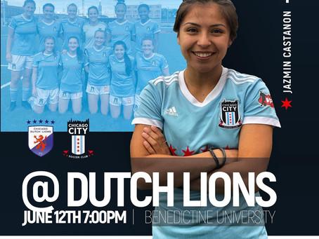 Chicago City v. Chicago Dutch Lions: Match Preview