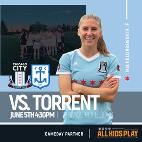 Chicago City v. Milwaukee Torrent: Match Preview