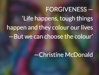 Blog 44: Forgiveness