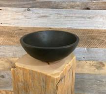 Ebonized Oak Bowl 14 in