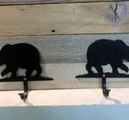Simple Bear Key Hooks
