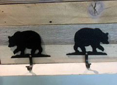 Simple Bear Key Hooks