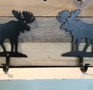 Simple Moose Key Hooks