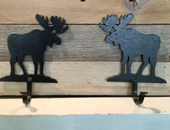 Simple Moose Key Hooks