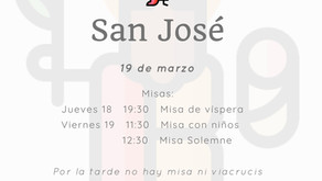 San José, fiesta de precepto