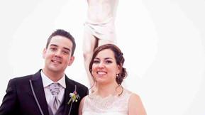 La primera boda en el nuevo templo!