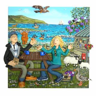 Loch Buie portrait