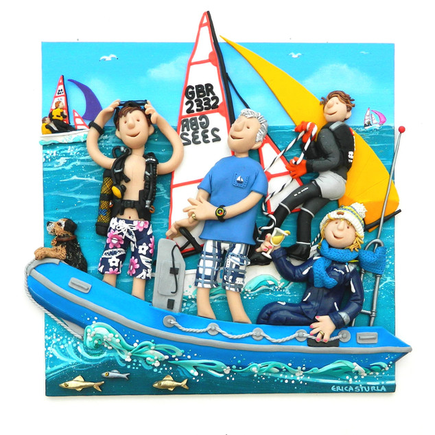 Sailing Family Portrait