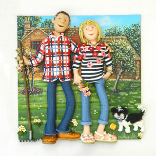 Gardening Couple Portrait