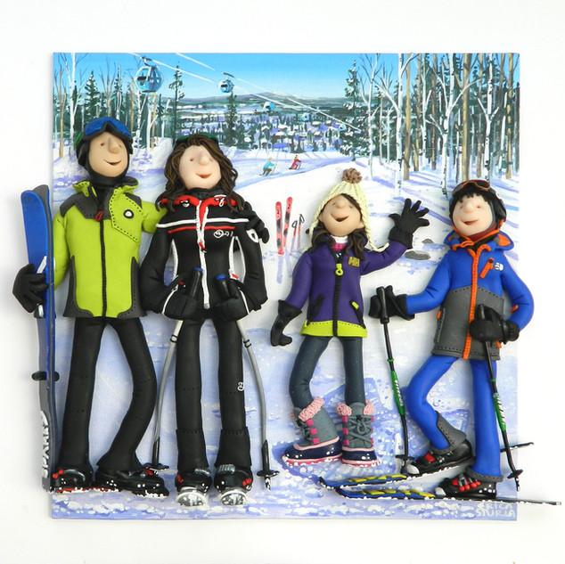 Ski Family Portrait