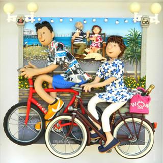 Bike Ride family portrait
