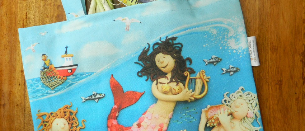 Song of the Sea canvas bag