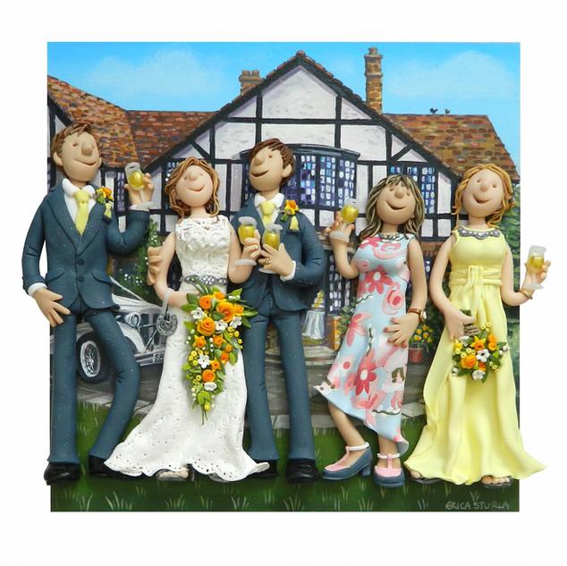 Spring Wedding Portrait