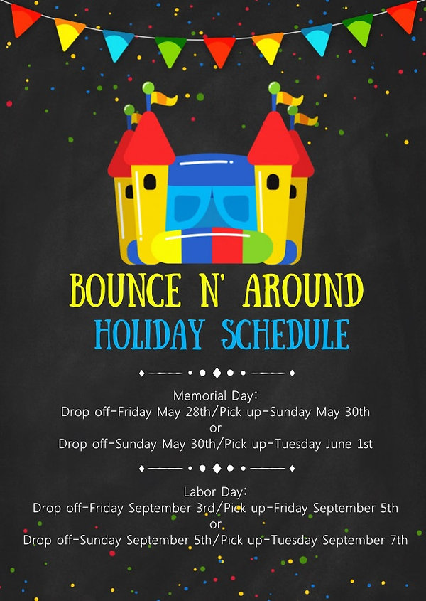 Copy of Bounce house birthday party invi