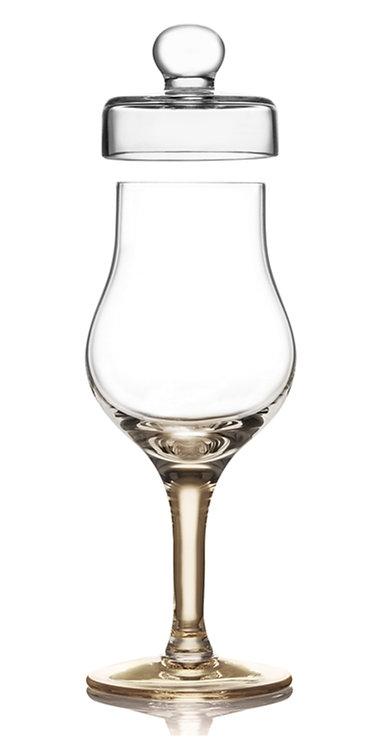 Degustační sklenka na whisky - tulip amber