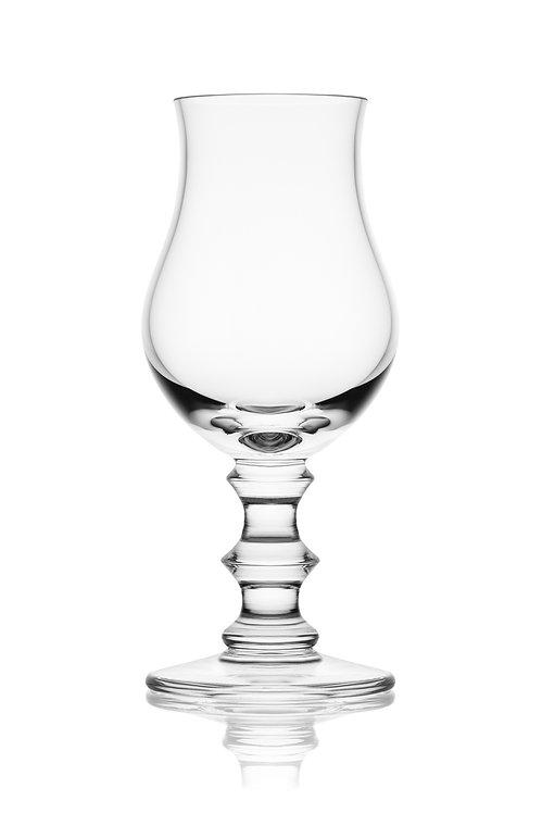 Degustační sklenka na whisky s broušenou stopkou
