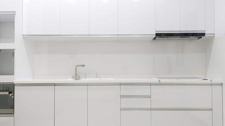 【高雄】開放式一字型廚房