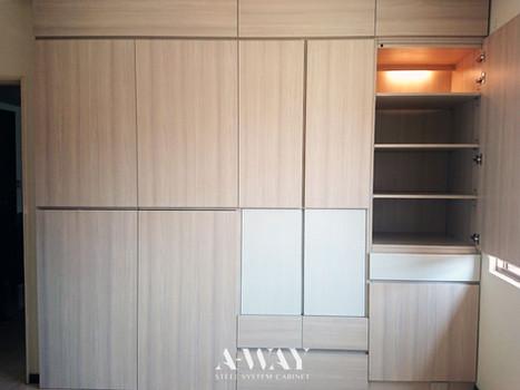 【高雄】木紋衣櫥