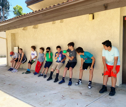 Children's Wall Sit Exercise