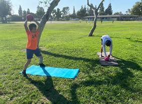 Youth Athletes Ball Slam Exercises