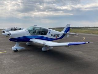 Livraison nouveau Robin DR401-120 F-GOSV