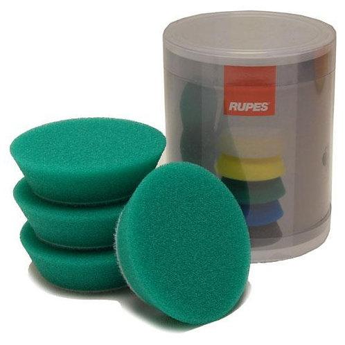 Rupes Bigfoot Nano iBrid 70mm (2.75in) Green Medium Foam Pad 4 Pack