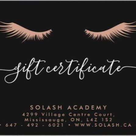LASH LIFT Gift Card