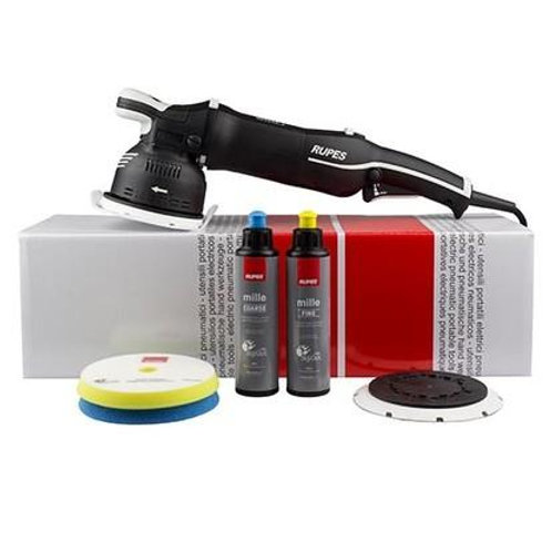 RUPES BIGFOOT MILLE LK 900E GEAR DRIVEN DUAL ACTION POLISHER STANDARD KIT