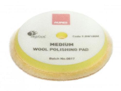 Rupes 180mm (LHR21) Wool Yellow Polishing Pad Medium