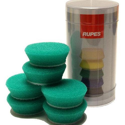Rupes Bigfoot Nano iBrid 40mm (1.5in) Green Medium Foam Pad 6 Pack