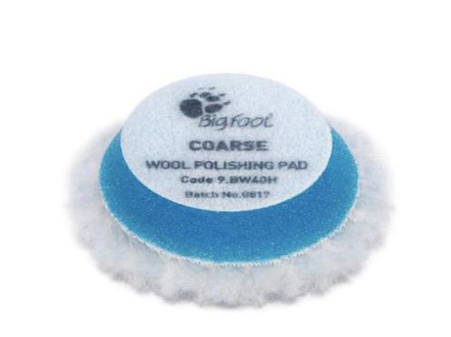 Rupes 45mm Wool Blue Coarse Pad
