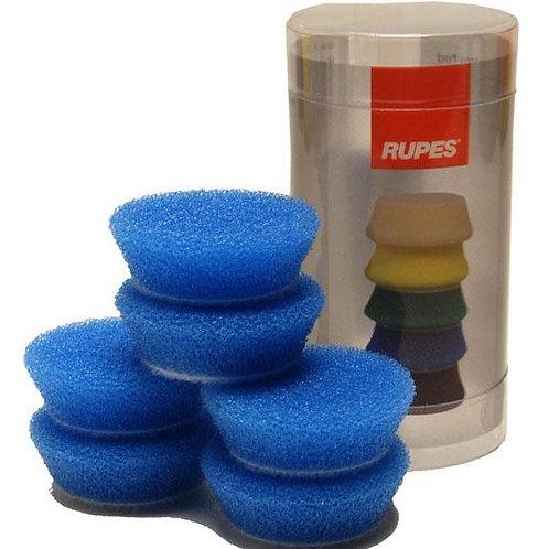 Rupes Bigfoot Nano iBrid 40mm (1.5in) Blue Coarse Foam Pad 6 Pack