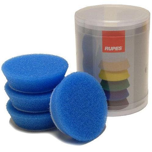 Rupes Bigfoot Nano iBrid 70mm (2.75in) Blue Coarse Foam Pad 4 Pack
