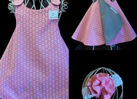 Handmade Nautical Theme Dress