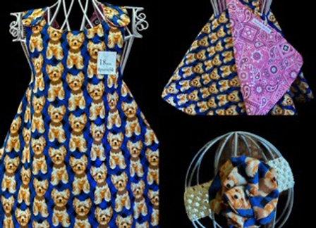 Handmade Yorkie Dogs Dress