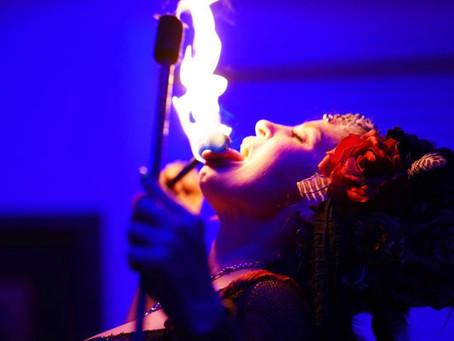Fire eating Fierce Talent!